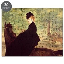 The Horsewoman, 1875 (oil on canvas) - Puzzle