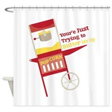 Butter Me Up Shower Curtain