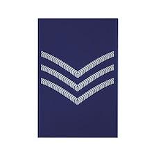 RAF Sergeant<BR> Rectangle Magnet