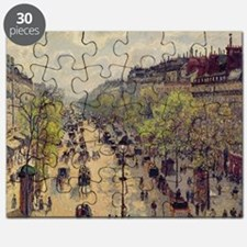 Boulevard Montmartre, Spring, 1897 (oil o - Puzzle