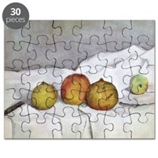 Fruit on a Cloth, c.1890 (oil on canvas) - Puzzle