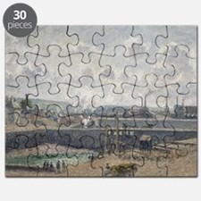 Low Tide at Duquesne Docks, Dieppe, 1902 - Puzzle