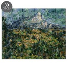 Mont Sainte Victoire, 1904 05 (oil on can - Puzzle