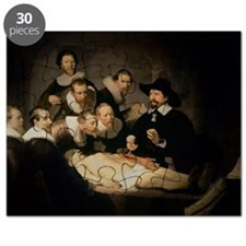 The Anatomy Lesson of Dr. Nicolaes Tulp, - Puzzle