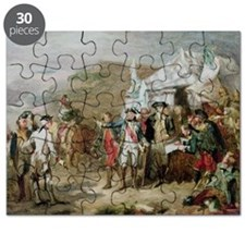 Sketch for the Battle of Yorktown, 1st to - Puzzle