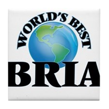 World's Best Bria Tile Coaster