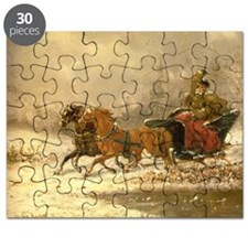 Returning Home in Winter - Puzzle