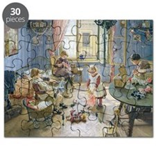 The Nursery, 1889 (oil on canvas) - Puzzle