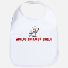 Worlds Greatest Griller Bib
