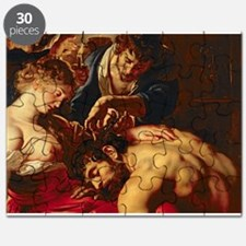 Samson and Delilah, c.1609 (oil on panel) - Puzzle