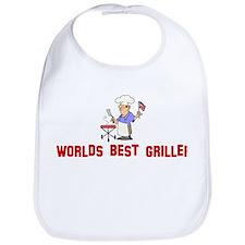 Worlds Best Griller Bib