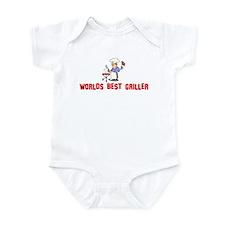 Worlds Best Griller Infant Bodysuit