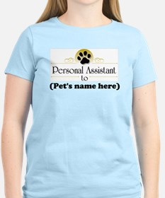 Pet Personal Assistant (Dog) T-Shirt
