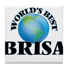 World's Best Brisa Tile Coaster