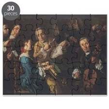 The Concert, c.1755 (oil on canvas) - Puzzle