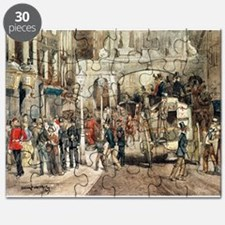 London Street, 1869 (w/c on paper) - Puzzle