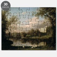 View of the Pavlovsk Palace, c.1800 (oil - Puzzle