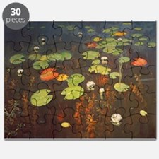 Water Lilies 1895 (oil on canvas) - Puzzle