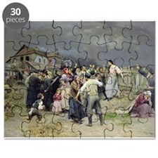 A victim of fanaticism, 1899 (oil on canv - Puzzle