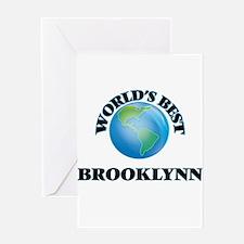 World's Best Brooklynn Greeting Cards