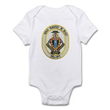 USS DAVID R. RAY Infant Bodysuit