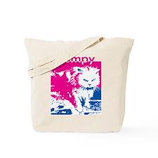Grumpy Kitty Pink Tote Bag