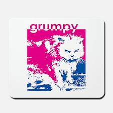Grumpy Kitty Pink Mousepad