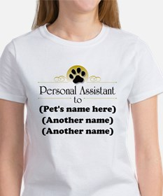 Pet Personal Assistant (Multiple Pets) Women's T-S