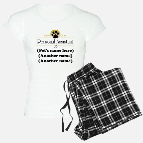 Pet Personal Assistant (Multiple Pets) pajamas