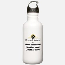 Pet Personal Assistant (multiple pets) Water Bottle