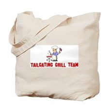 Tailgating grill team Tote Bag