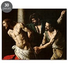 The Flagellation of Christ, c.1605-7 (oil - Puzzle