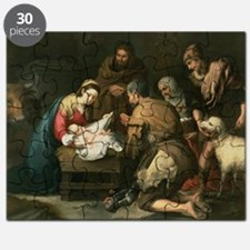 The Adoration of the Shepherds, c.1650 (o - Puzzle