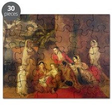 The Palmer Family, 1785 (oil on canvas) - Puzzle