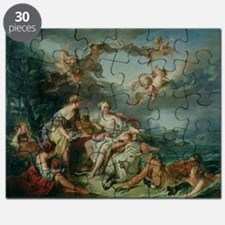 The Rape of Europa, 1747 (oil on canvas) - Puzzle