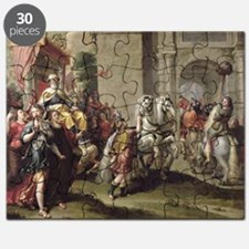 The Triumph of David, c.1690 (oil on canv - Puzzle