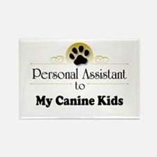 My Canine Kids Rectangle Magnet