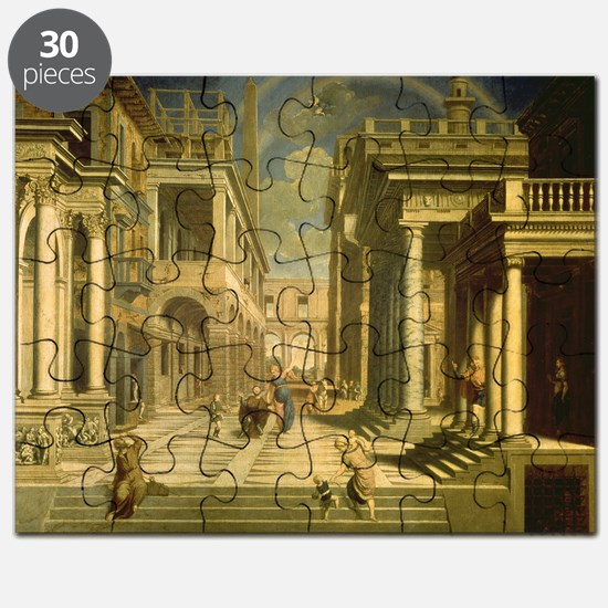 Emperor Augustus and the Sibyl, 1535 - Puzzle