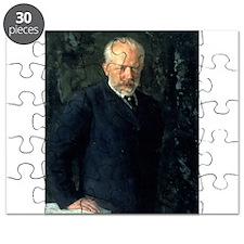 Portrait of Piotr Ilyich Tchaikovsky (184 - Puzzle
