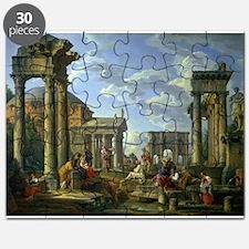 Roman Ruins with a Prophet, 1751 - Puzzle
