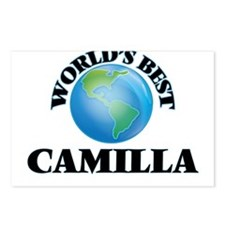 World's Best Camilla Postcards (Package of 8)