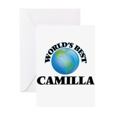 World's Best Camilla Greeting Cards