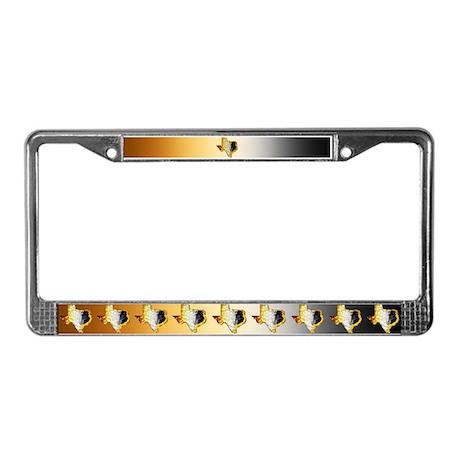 Le Bear Texas 2 - License Plate Frame