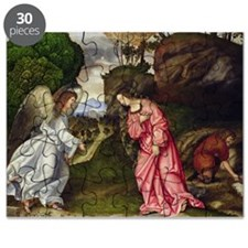Hagar and the Angel (oil on canvas) - Puzzle