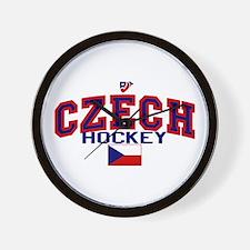 CZ Czech/Ceská Hockey Wall Clock