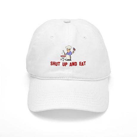 Shut up and eat Cap