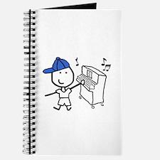 Boy & Piano Journal