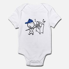 Boy & Piano Infant Bodysuit