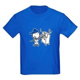 Musical notes Kids T-shirts (Dark)