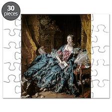 Madame de Pompadour, 1756 (oil on canvas) - Puzzle